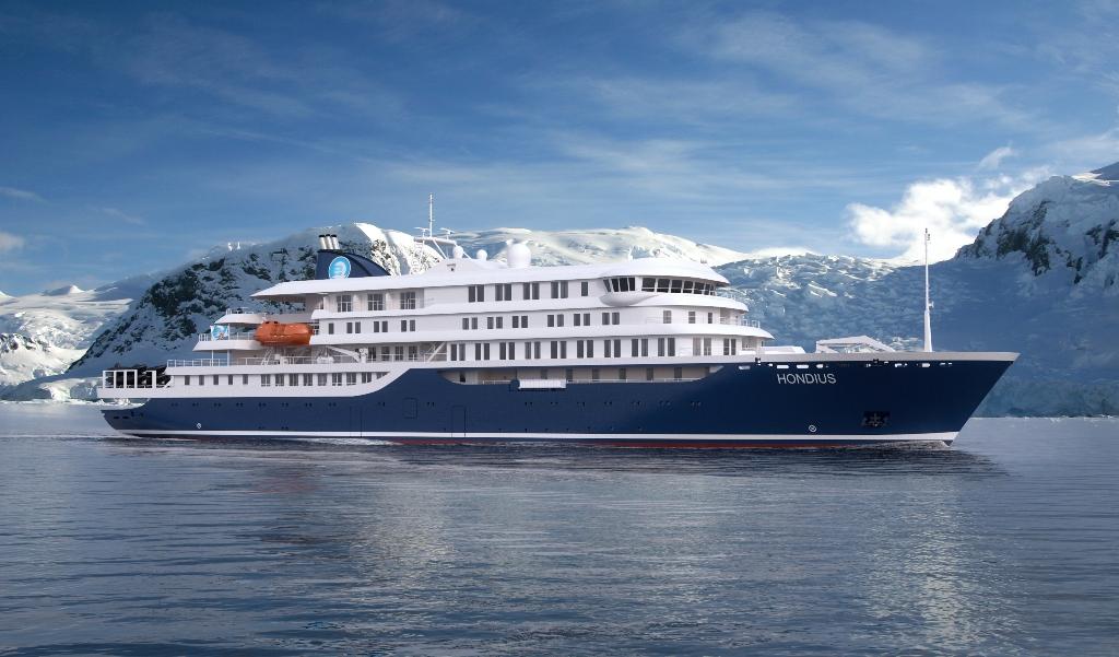 Brod Hondius opremanje